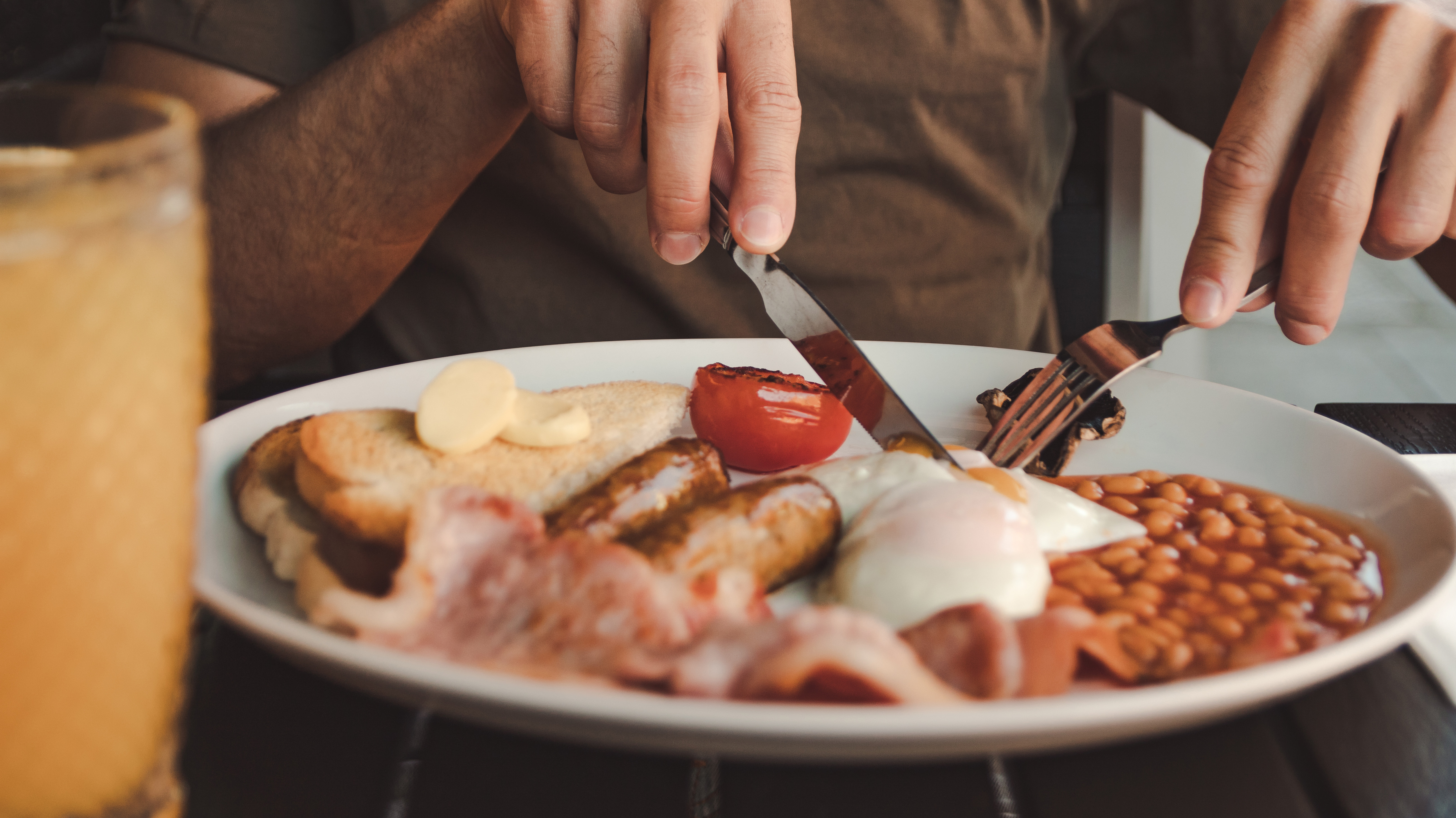 Full English Breakfasts In London