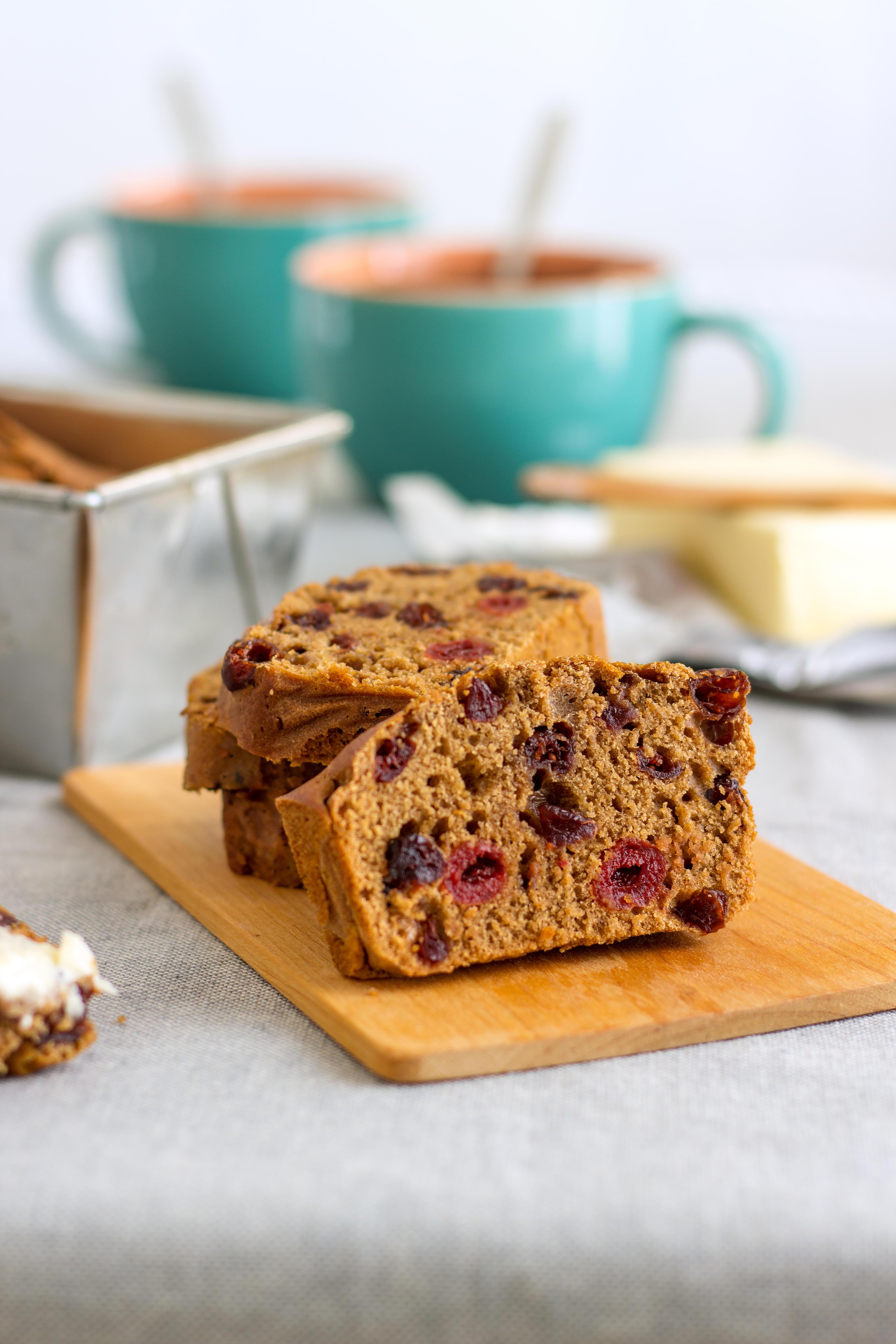 Traditional Irish Barmbrack Tea Cake