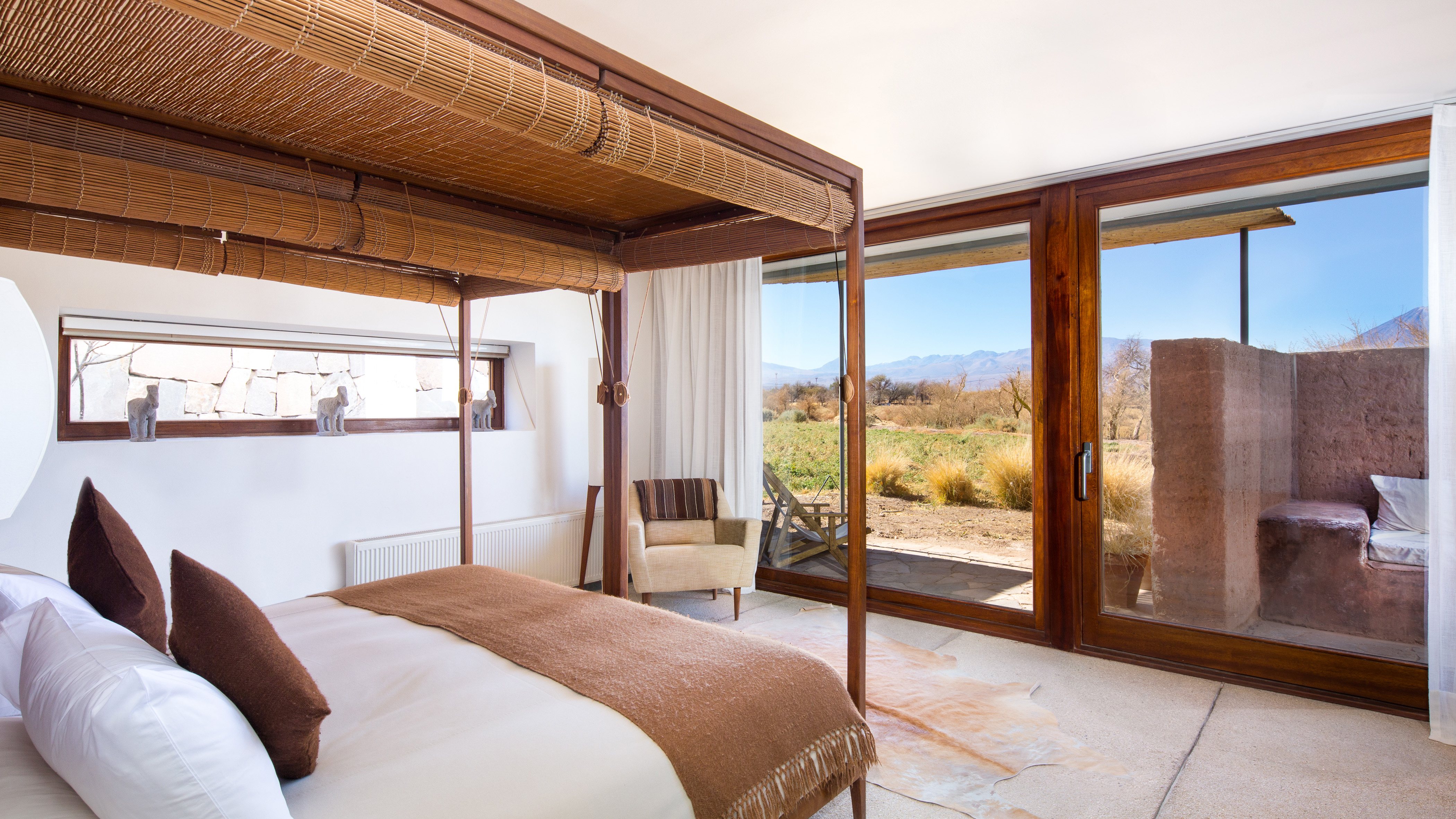 Guest room at Tierra Atacama