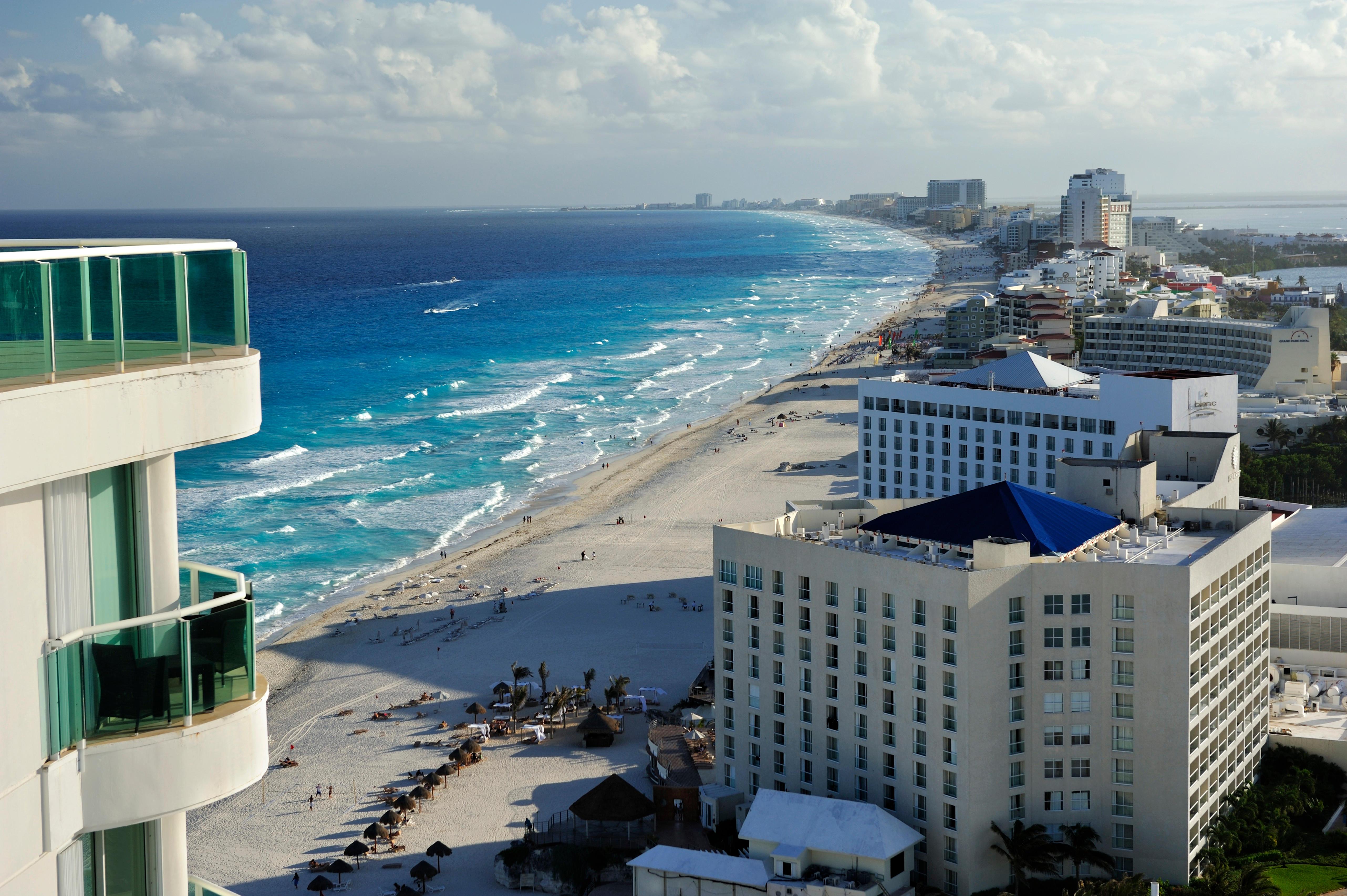 Chac Mol beach, Cancun, Yucatan Peninsula, Quintana Roo, Mexico, Latin America, North America