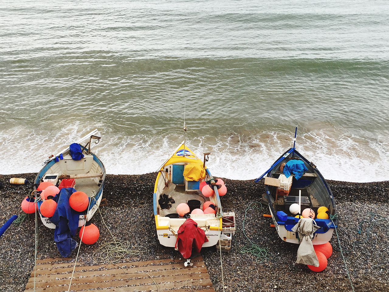 Sheringham once functioned as a fishing village