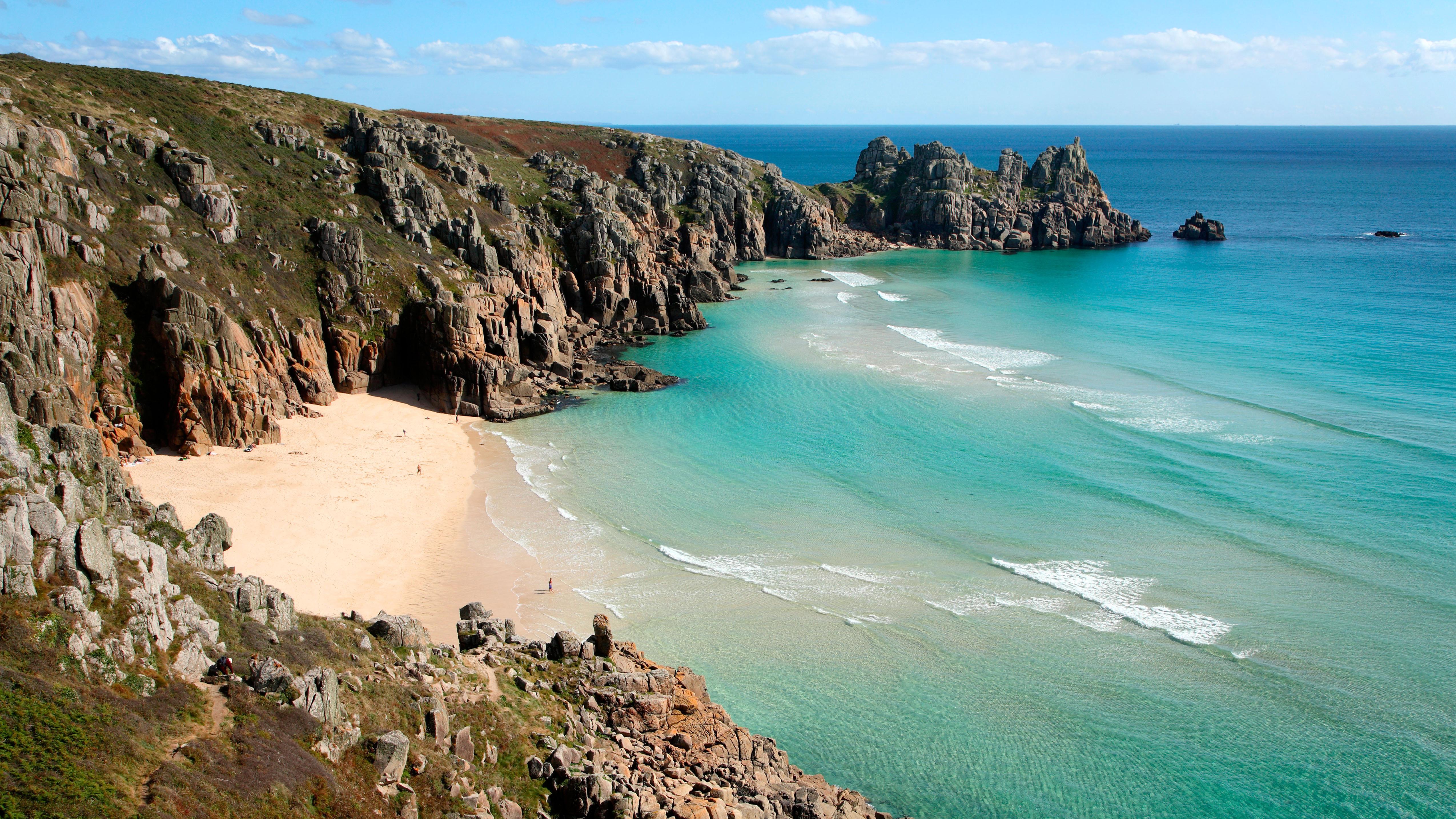 Cornwall seashores