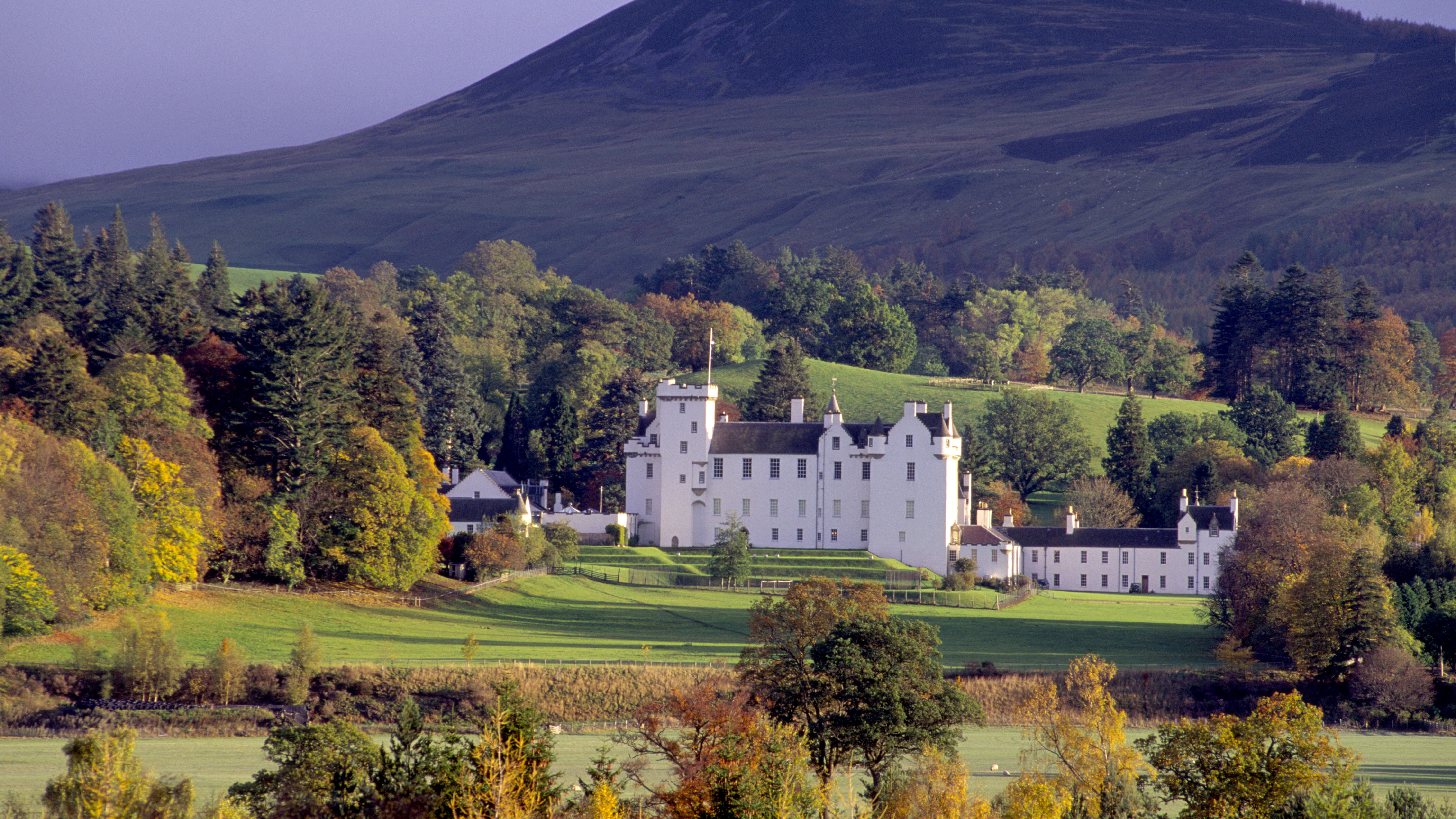 Perthshire scotland castles