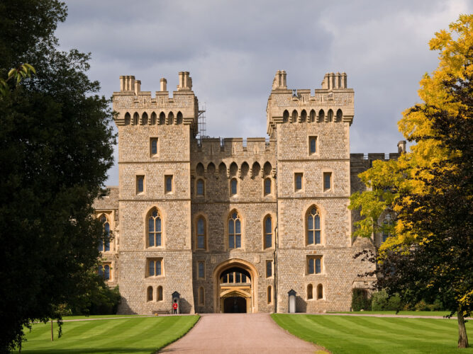George IV Gateway Windsor Castle Berkshire England UK. Image shot 08/2011. Exact date unknown.