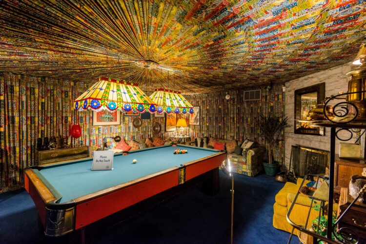 United States, Tennessee, Memphis, Graceland, Elvis Presley's house, the pool room