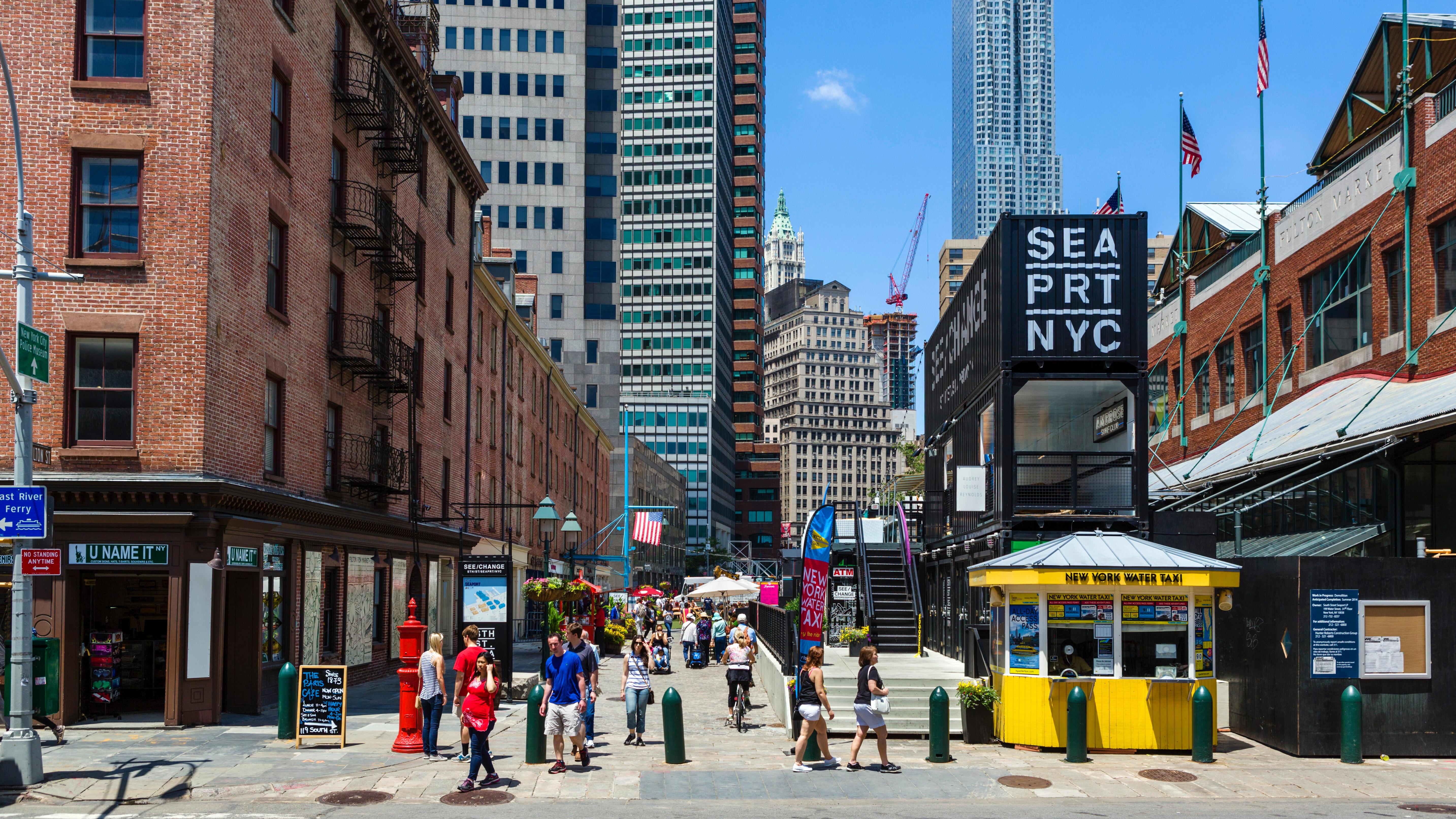 The Best Restaurants In South Street Seaport Manhattan